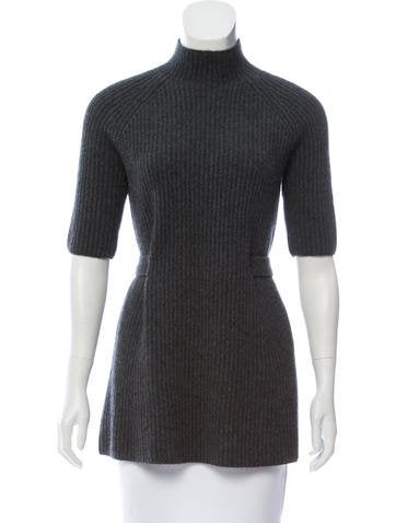 Michael Kors Mock Neck Cashmere Tunic None