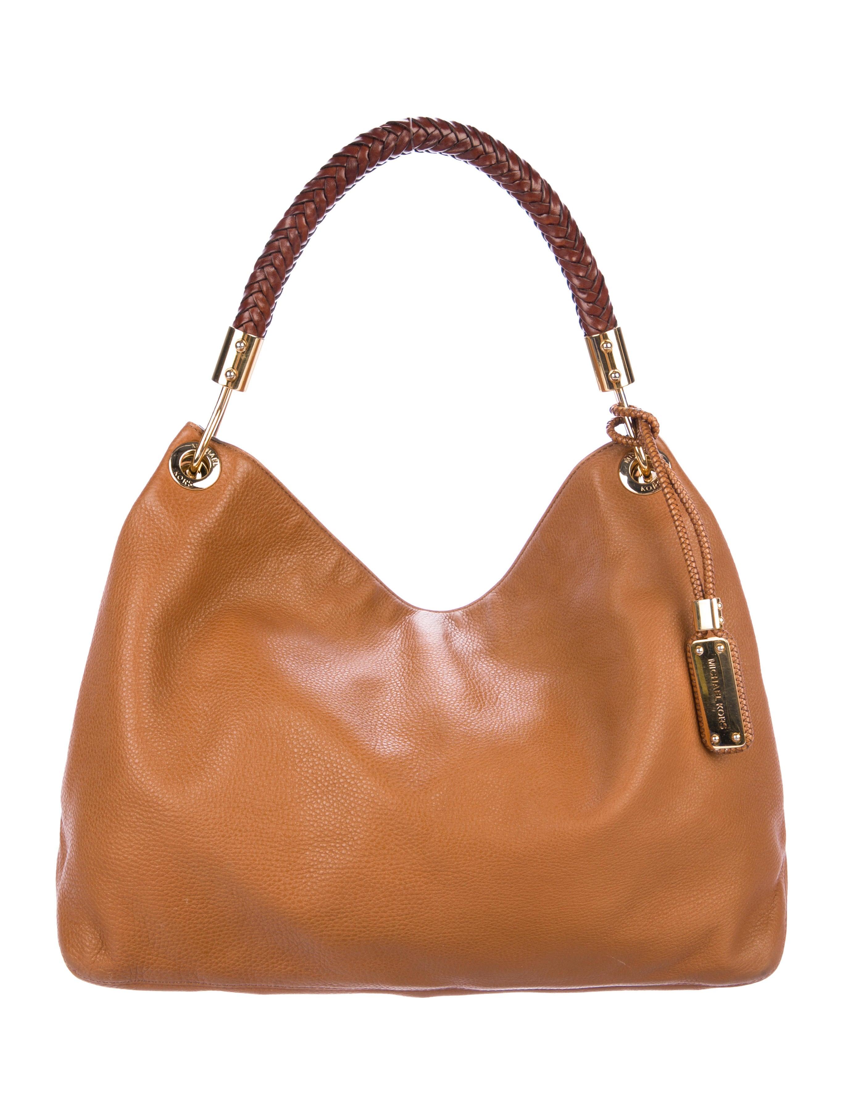 3bc69b41ee30 Michael Kors Leather Skorpios Hobo - Handbags - MIC70911 | The RealReal