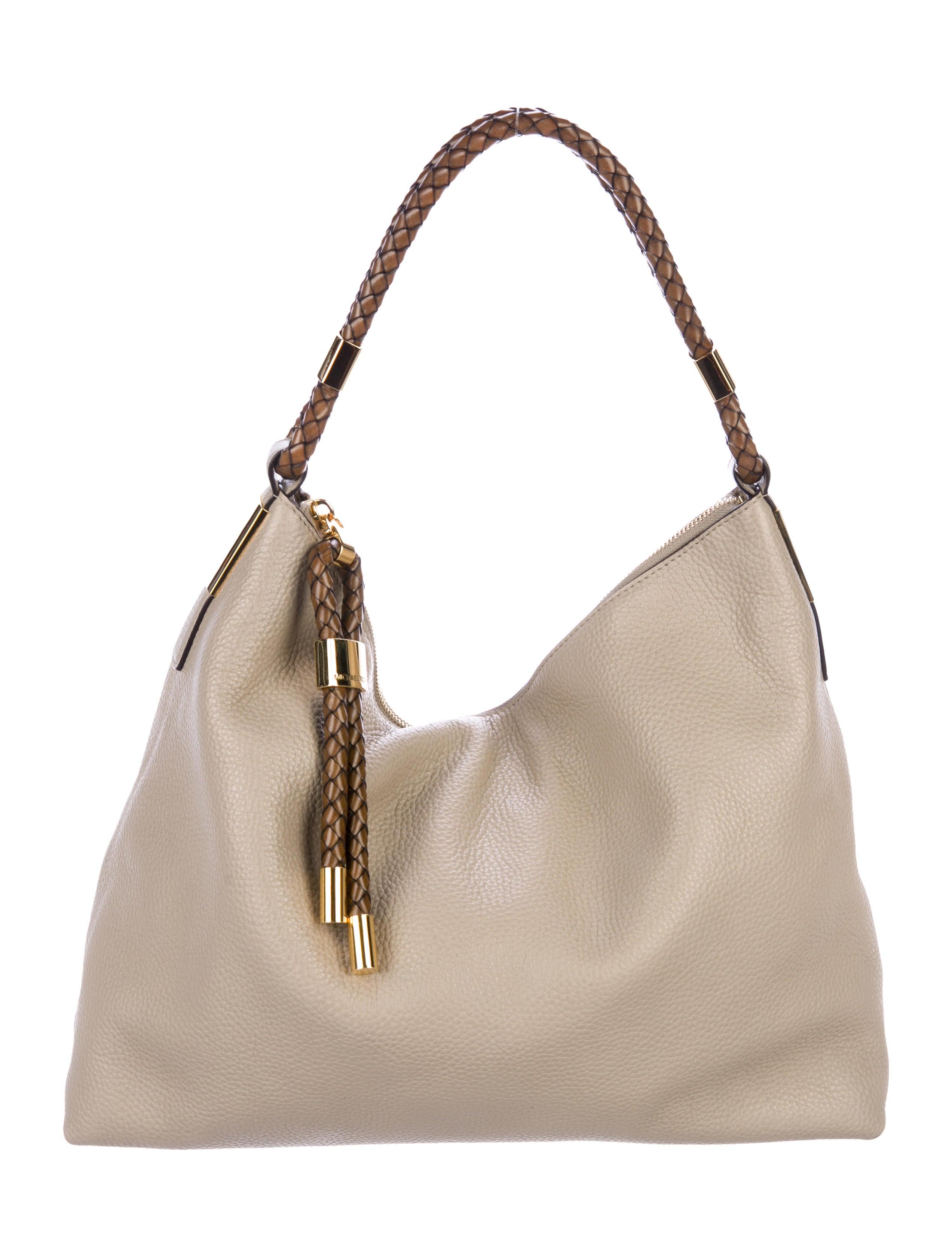 85e111145297 Michael Kors Skorpios Leather Hobo w/ Tags - Handbags - MIC75763 | The  RealReal