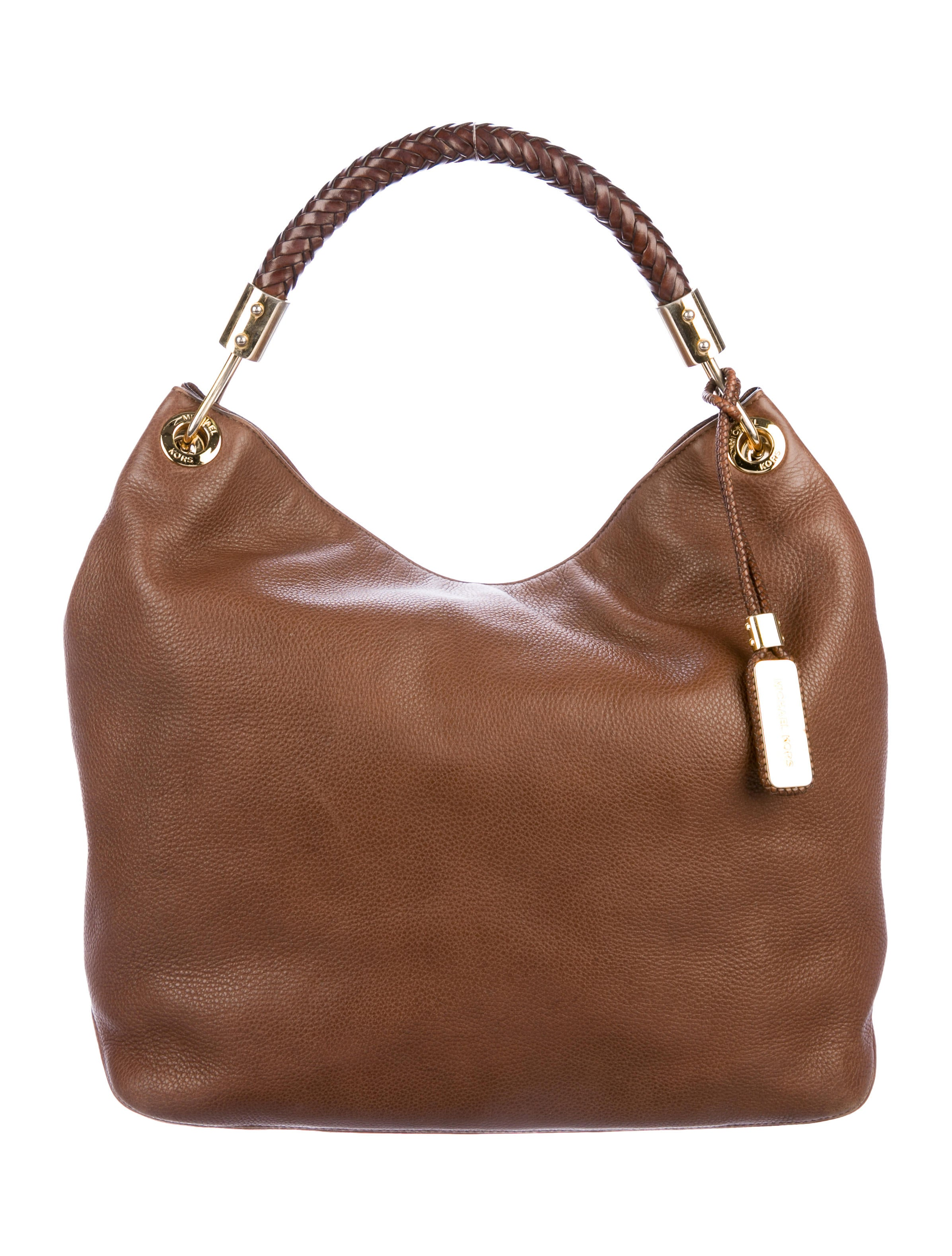 098402af8bb4 Michael Kors Skorpios Leather Hobo - Handbags - MIC76194 | The RealReal