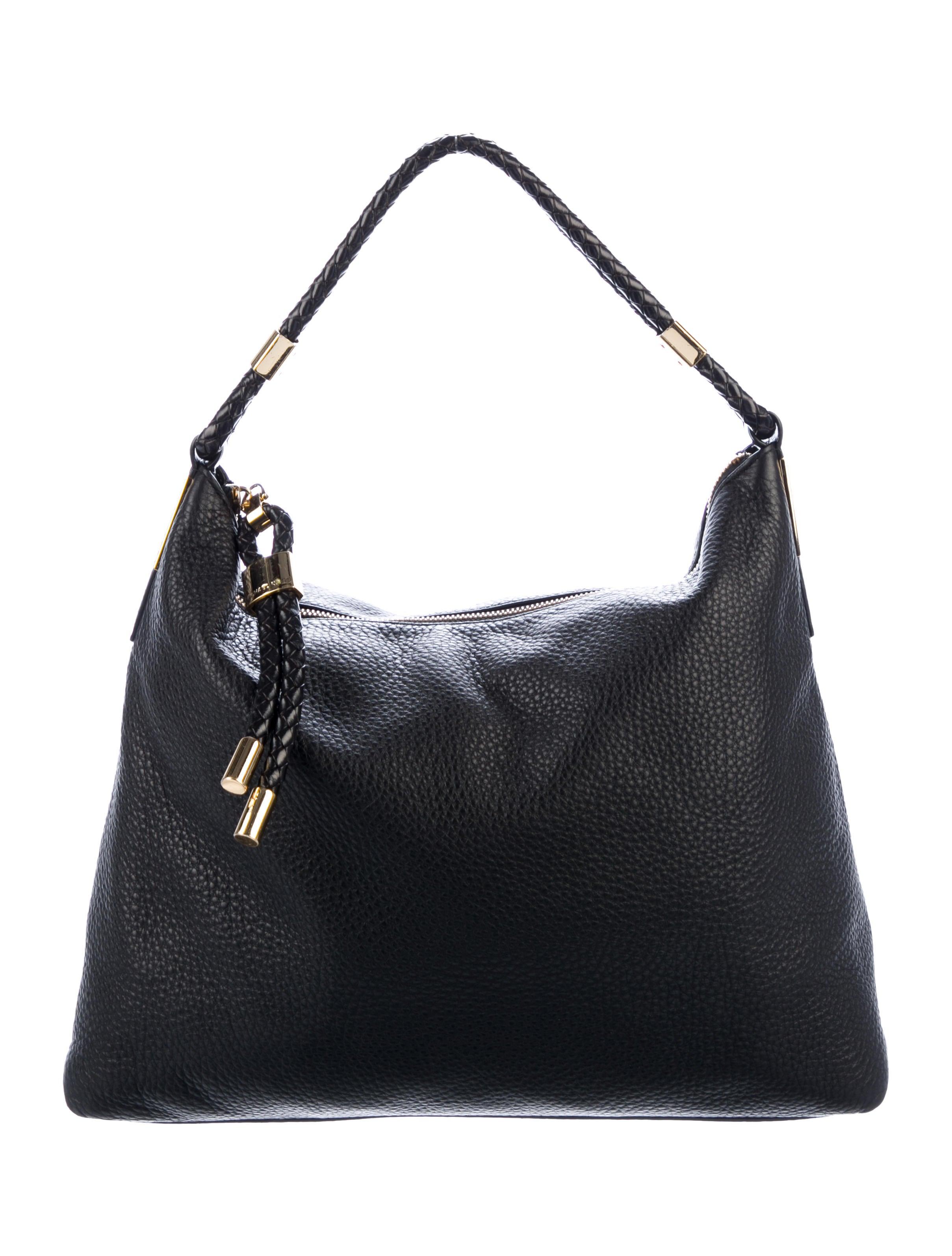 201666a62dc8 Michael Kors 2019 Skorpios Large Pebbled Leather Shoulder Bag ...