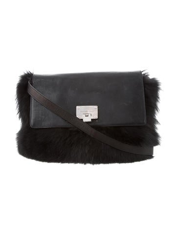 38159587c488 Michael Kors. Fox Fur Darrington Bag