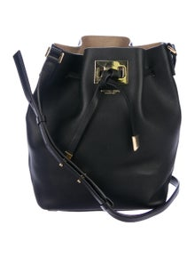 997259748affac Michael Kors. Collection Miranda Leather Bucket Bag