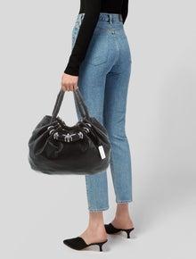 6432537e4b65 Michael Kors. Twisted Handle Hobo Bag