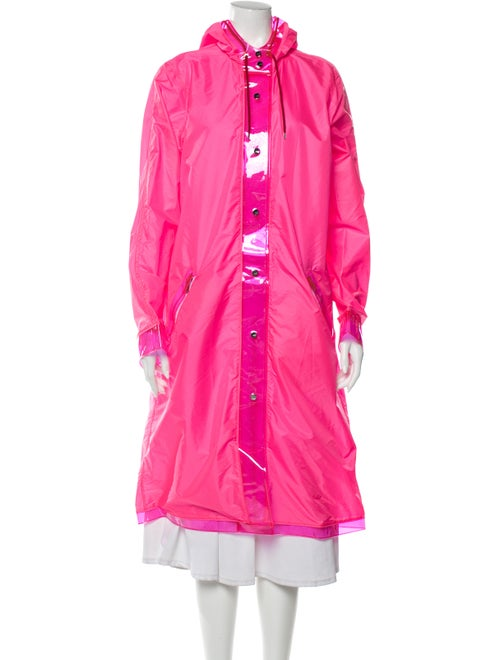 The Mighty Company Trench Coat Pink