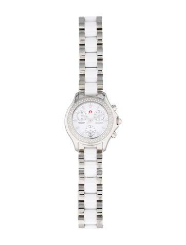 Tahitian Ceramic Chronograph Watch w/ Tags