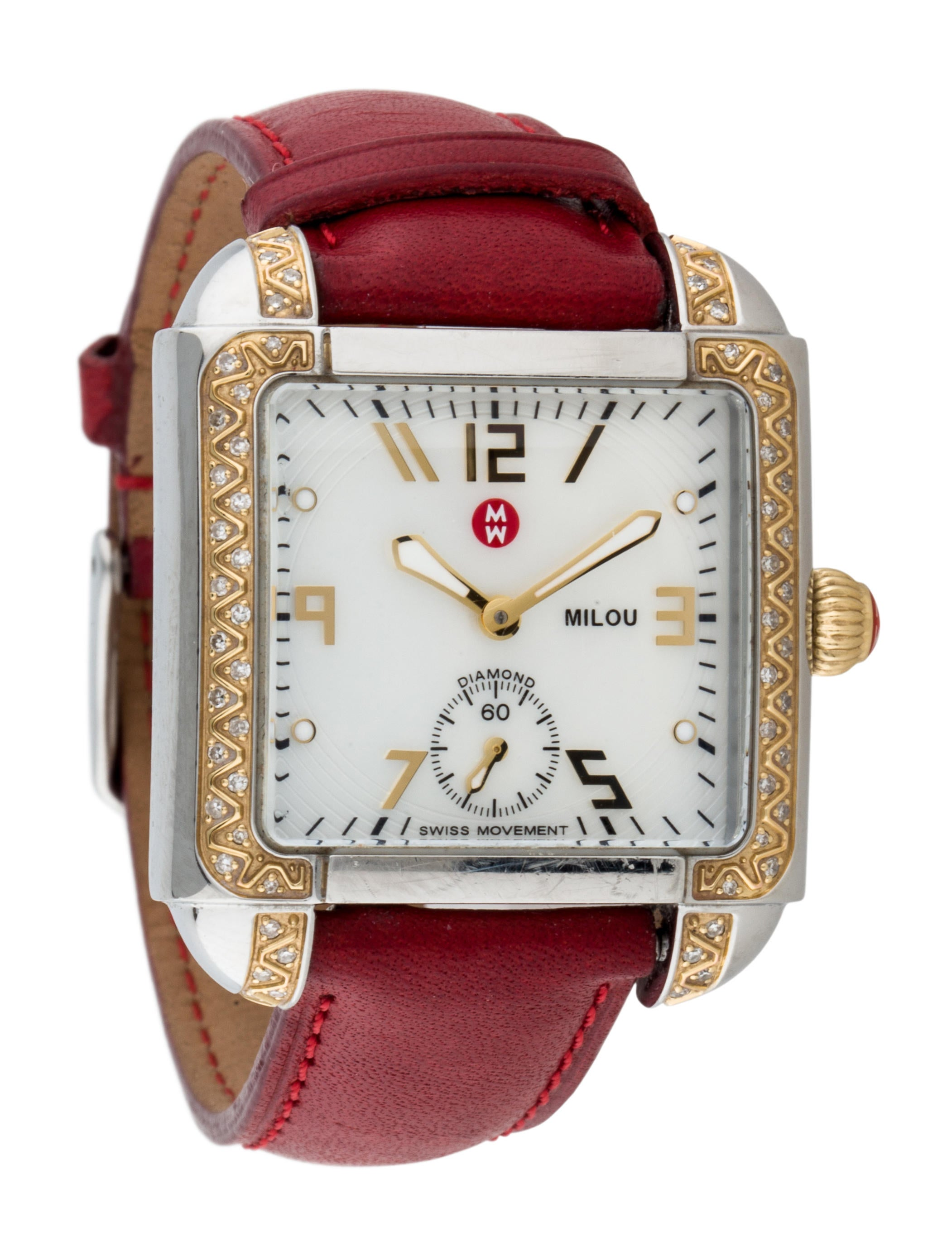 Michele Milou Diamond Watch
