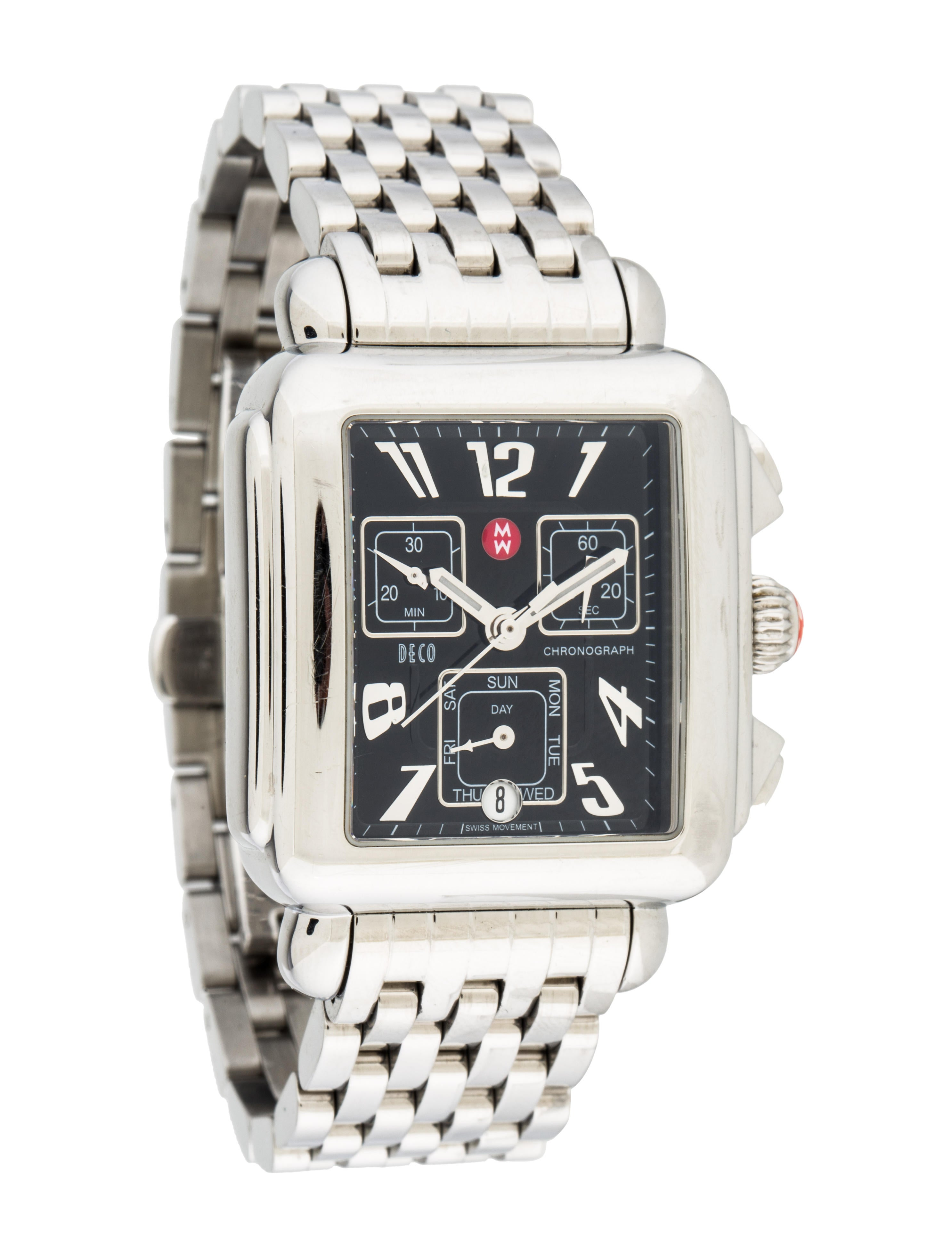 Michele Deco Watch Bracelet Mie23411 The Realreal