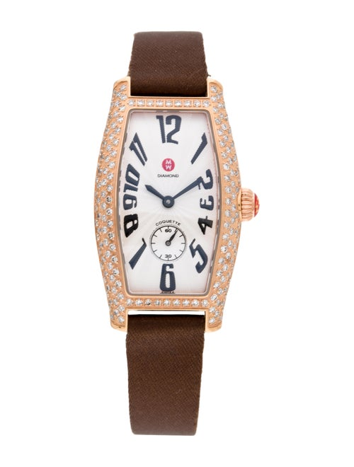 Michele Coquette Watch Rose