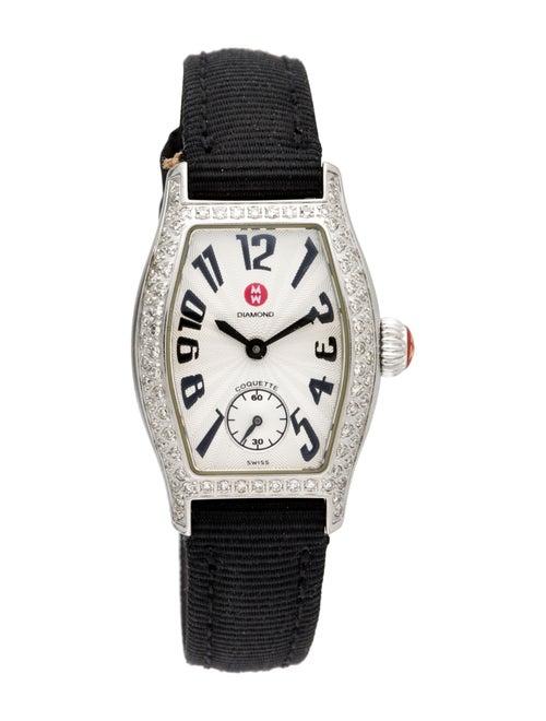 Michele Coquette Watch Silver