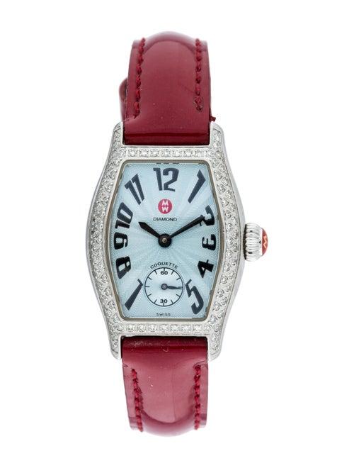 Michele Coquette Watch Blue