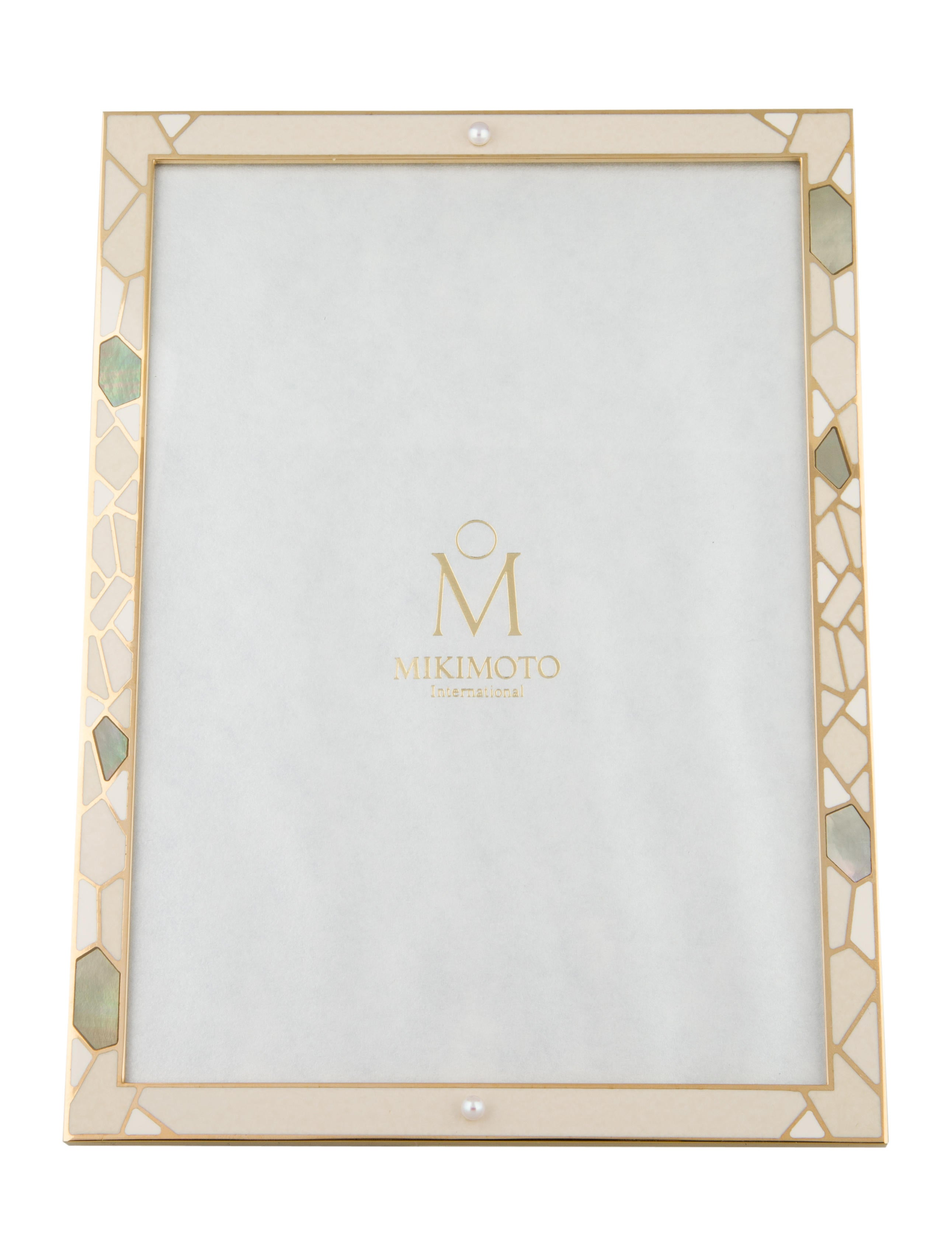 Mikimoto Pearl-Embellished Picture Frame - Decor And Accessories ...