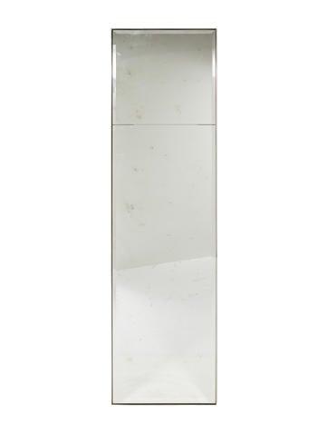 Antiqued Floor Mirror