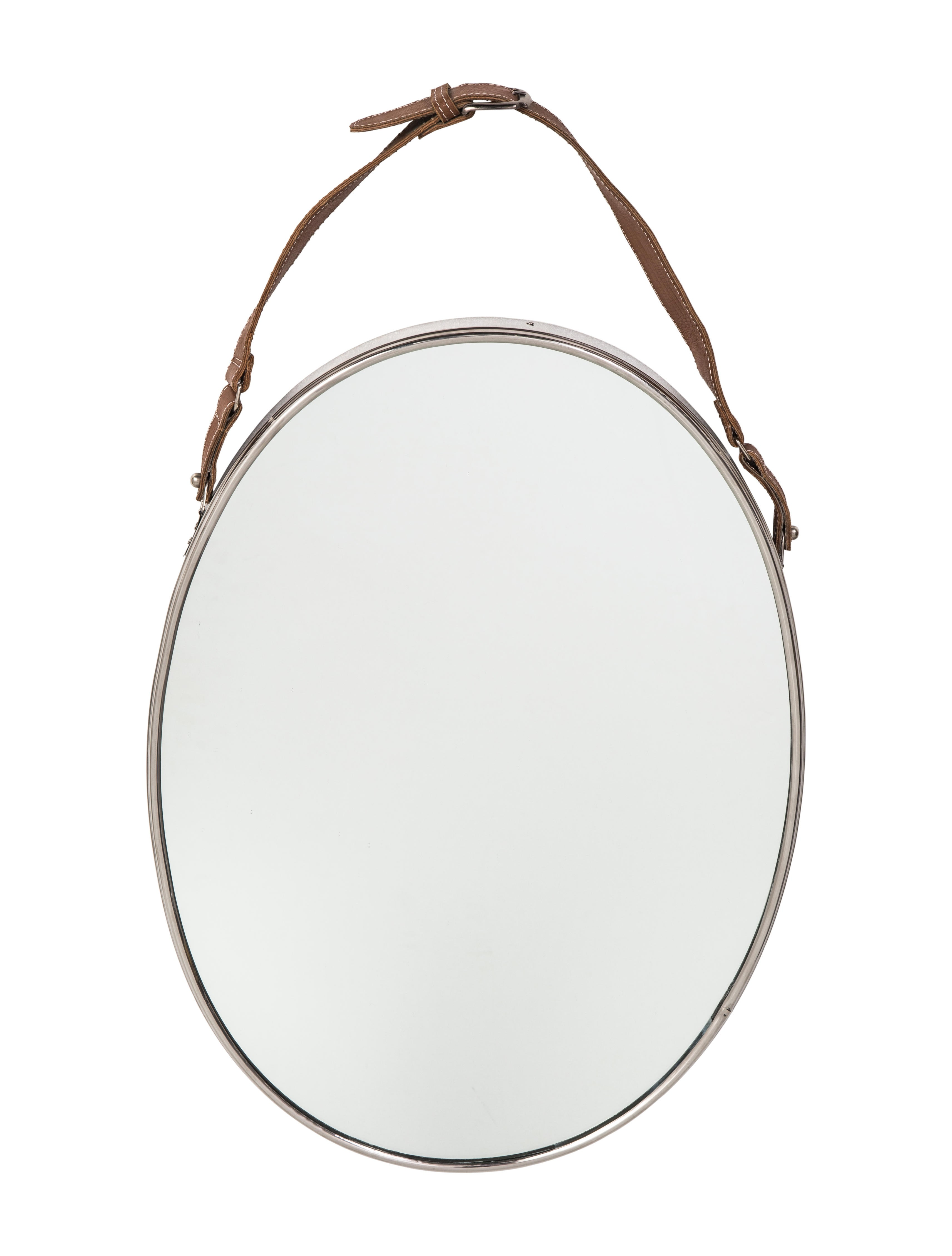 Oval wall mirrors decor and accessories mir20035 the for Artistic accents genuine silver decoration