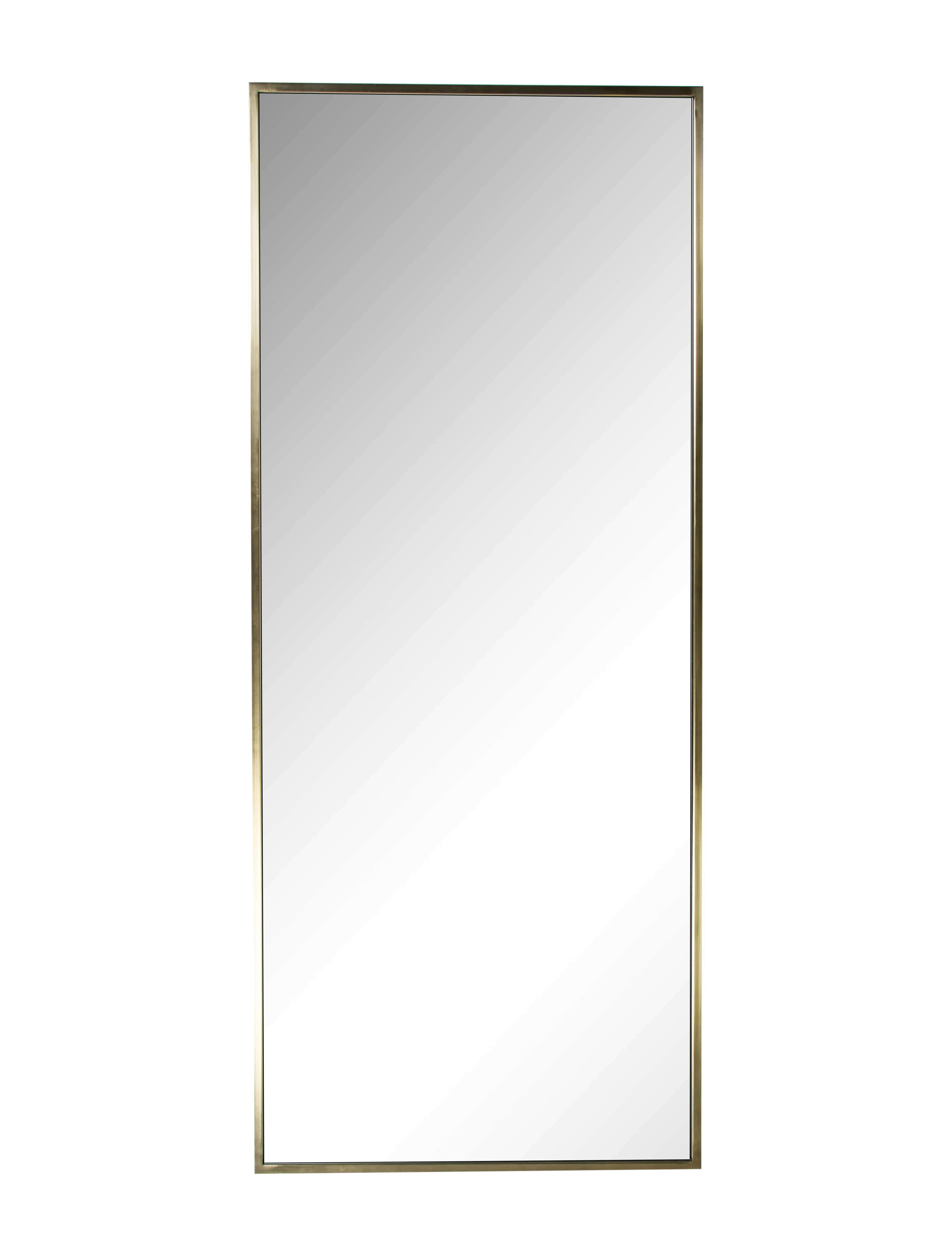 Full length wall mirror decor and accessories mir20105 for Full length wall mirror