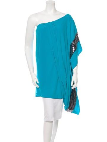 Missoni Silk One-Shoulder Top None