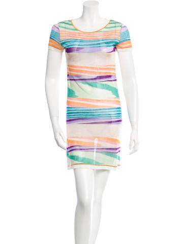 Missoni Semi-Sheer Knit Dress None