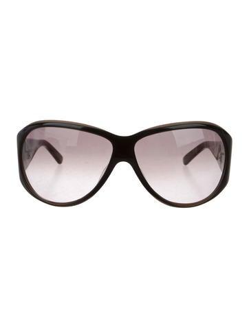 Missoni Acetate Shield Sunglasses