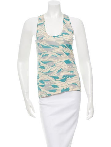 Missoni Sleeveless Printed Top None