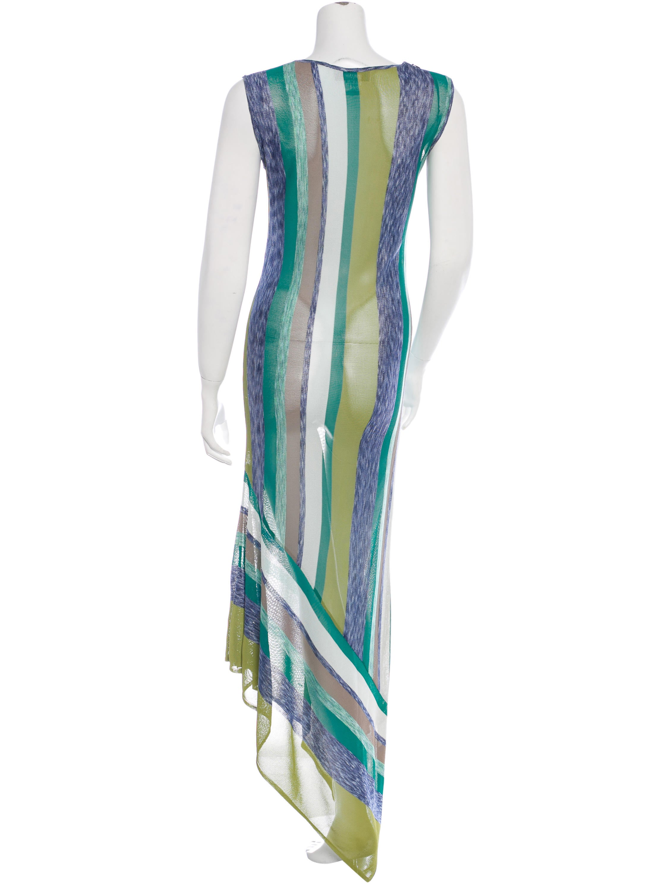 Knit Maxi Dress Pattern : Missoni Knit Maxi Dress - Clothing - MIS33990 The RealReal