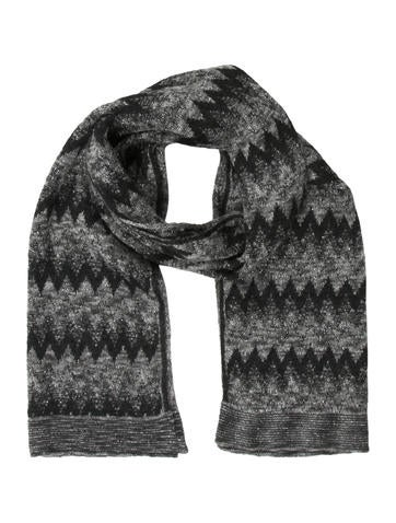 Missoni Wool-Mohair Blend Scarf None