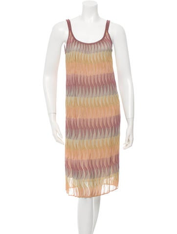 Missoni Printed Knit Dress None