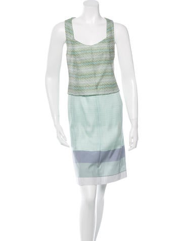Missoni Sleeveless Midi Dress None