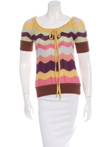 Missoni Wool Pattern Sweater None