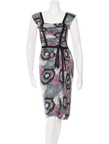 Missoni Structured Midi Dress