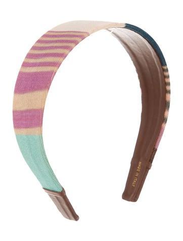 Missoni Multicolor Crocheted Headband None
