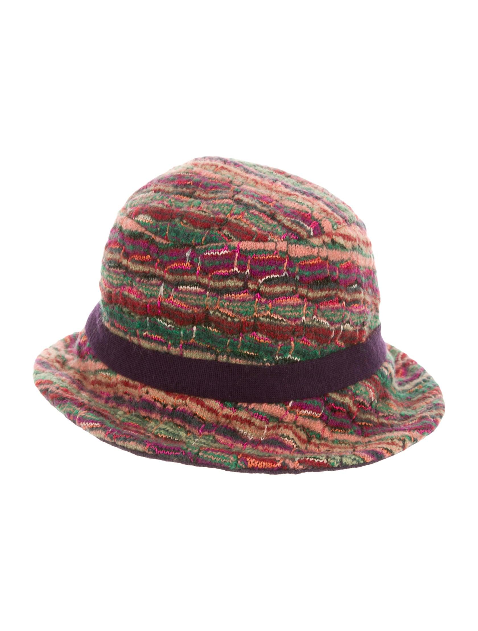 Missoni Multicolor Bucket Hat - Accessories - MIS35597  05faa7485a9