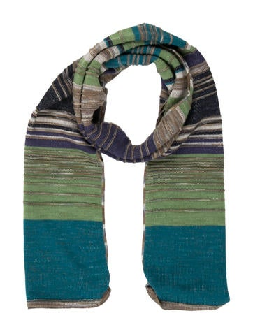 Missoni Multicolor Wool Scarf None