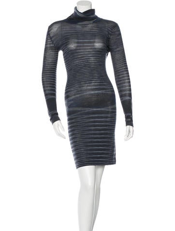 Missoni Wool Striped Dress None