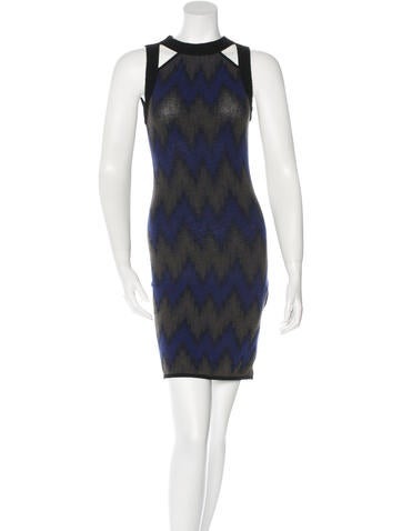 Missoni Patterned Bodycon Dress None