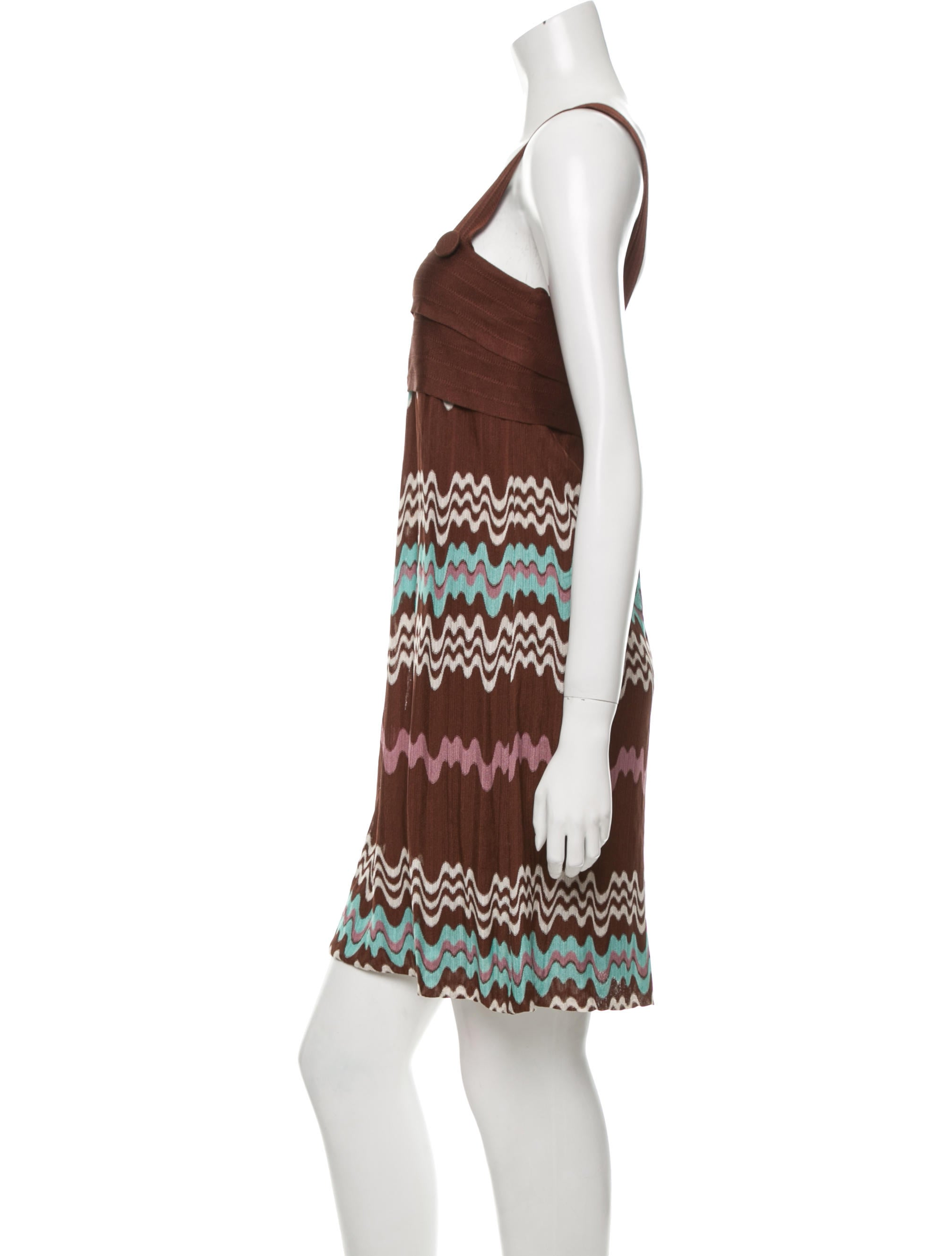 missoni sleeveless knit dress clothing mis35901 the realreal. Black Bedroom Furniture Sets. Home Design Ideas