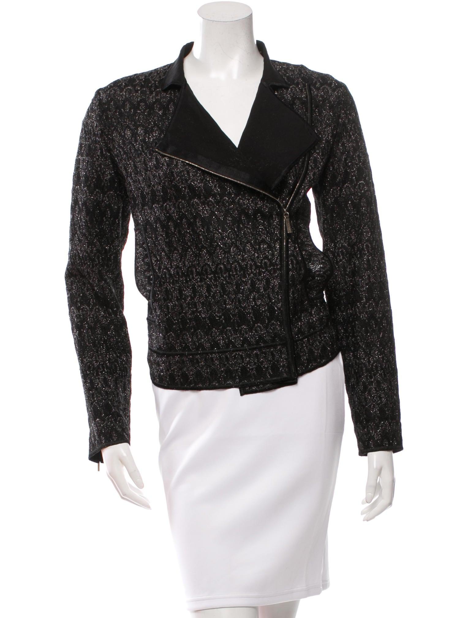 Missoni Knit Moto Jacket - Clothing - MIS35915 | The RealReal