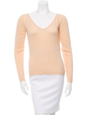 Missoni V-Neck Cashmere Sweater None