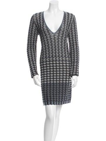 Missoni Patterned Mini Dress None