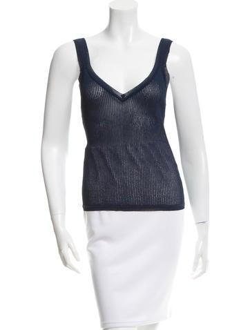 Missoni Sleeveless Knit Top None