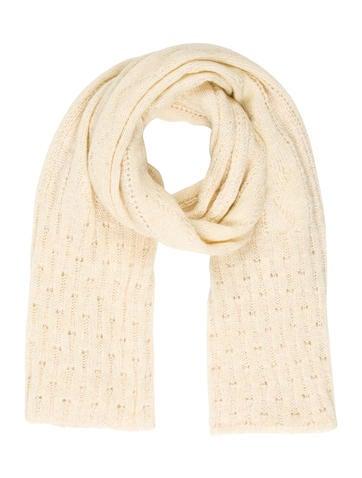 Missoni Metallic Knit Scarf None