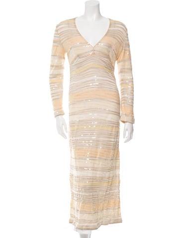 Missoni Embellished Striped Dress None