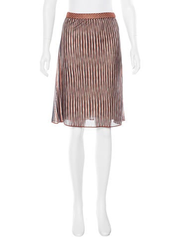 Missoni Striped A-Line Skirt None
