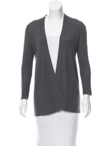 Missoni Long Sleeve Knit Cardigan None