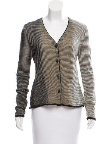 Missoni Striped Wool Cardigan None