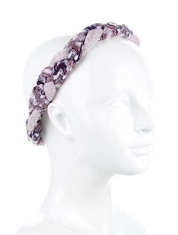 Metallic Wool Headband