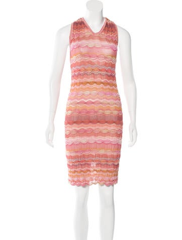 Missoni Striped Knee-Length Dress None