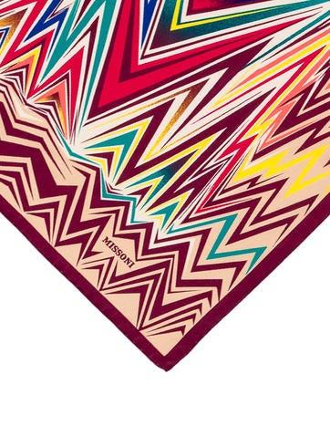 Silk Chevron Handkerchief