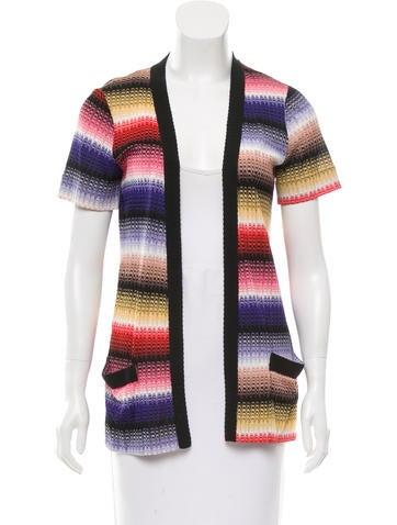 Missoni Printed Knit Cardigan None