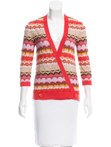 Missoni Cashmere Knit Cardigan None