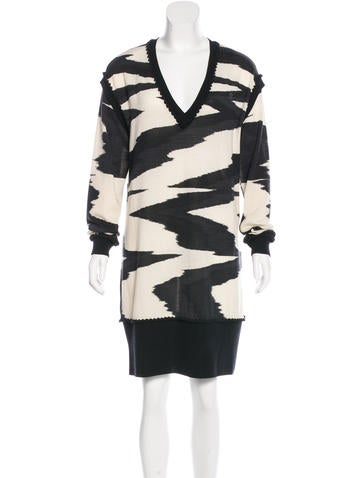 Missoni Wool Sweater Dress None